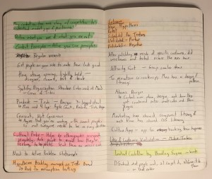 Highlighted Notes